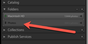 Lightroom not to happy after I renamed a Shared folder on a Volume